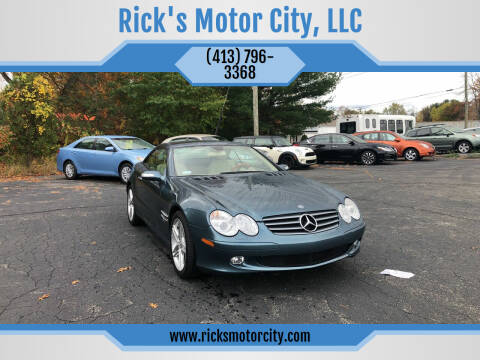 2006 Mercedes-Benz SL-Class for sale at Rick's Motor City, LLC in Springfield MA