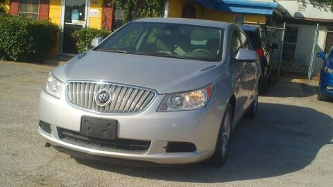 2010 Buick LaCrosse for sale at Global Vehicles,Inc in Irving TX