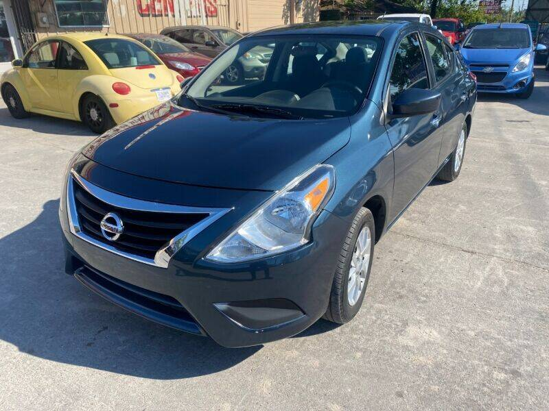 2016 Nissan Versa for sale at Sam's Auto Sales in Houston TX