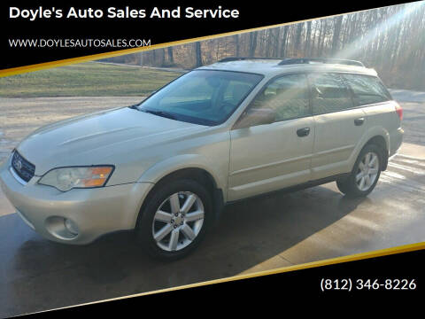 2006 Subaru Outback for sale at Doyle's Auto Sales and Service in North Vernon IN