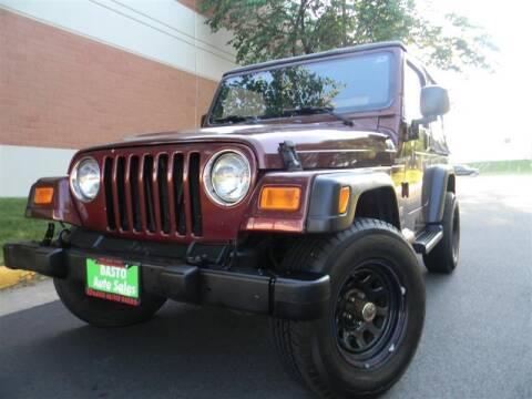 2003 Jeep Wrangler for sale at Dasto Auto Sales in Manassas VA
