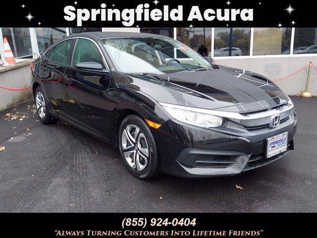 2018 Honda Civic for sale at SPRINGFIELD ACURA in Springfield NJ