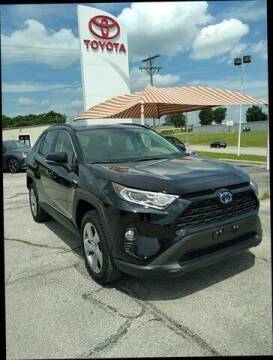 2021 Toyota RAV4 Hybrid for sale at Quality Toyota in Independence KS
