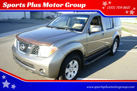2005 Nissan Pathfinder for sale at Sports Plus Motor Group LLC in Sunnyvale CA