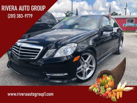 2013 Mercedes-Benz E-Class for sale at Rivera Auto Group in Spring TX