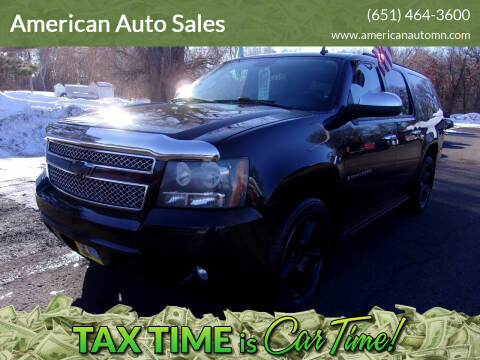 2008 Chevrolet Suburban for sale at American Auto Sales in Forest Lake MN