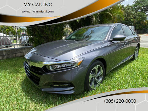 2020 Honda Accord for sale at My Car Inc in Pls. Call 305-220-0000 FL