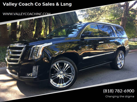2015 Cadillac Escalade for sale at Valley Coach Co Sales & Lsng in Van Nuys CA