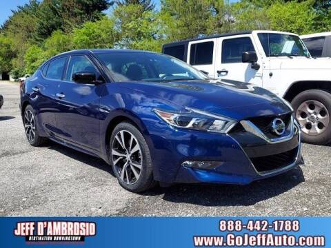 2018 Nissan Maxima for sale at Jeff D'Ambrosio Auto Group in Downingtown PA