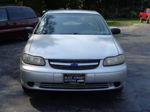 2002 Chevrolet Malibu for sale at MAIN STREET MOTORS in Norristown PA