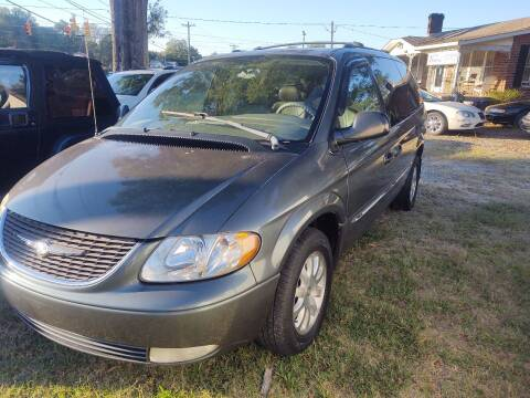 2003 Chrysler Town and Country for sale at Ray Moore Auto Sales in Graham NC