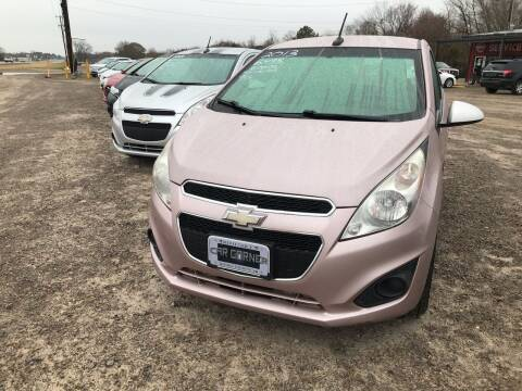 2013 Chevrolet Spark for sale at CAR CORNER in Van Buren AR