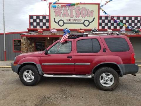 2002 Nissan Xterra for sale at Watson Motors in Poteau OK