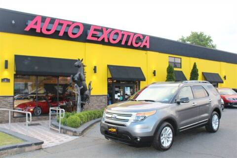 2012 Ford Explorer for sale at Auto Exotica in Red Bank NJ