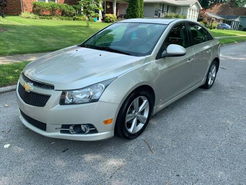 2013 Chevrolet Cruze for sale at Eddie's Auto Sales in Jeffersonville IN