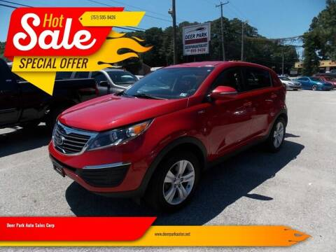 2013 Kia Sportage for sale at Deer Park Auto Sales Corp in Newport News VA