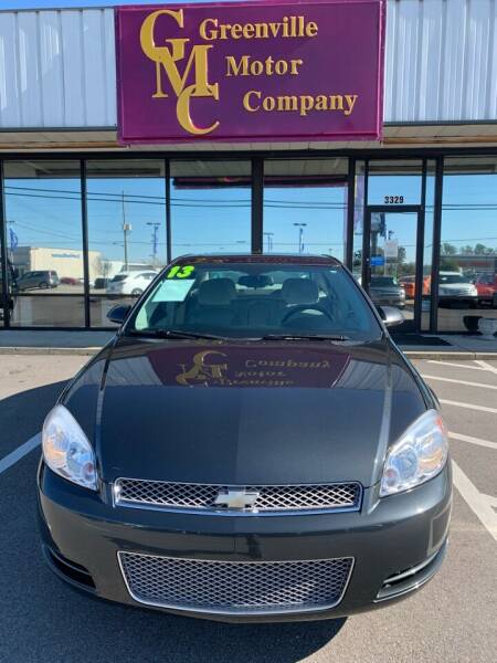 2013 Chevrolet Impala for sale at Greenville Motor Company in Greenville NC