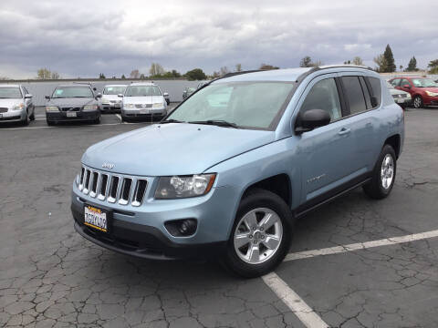 2014 Jeep Compass for sale at My Three Sons Auto Sales in Sacramento CA