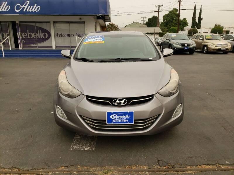 2013 Hyundai Elantra Limited 4dr Sedan - Montebello CA