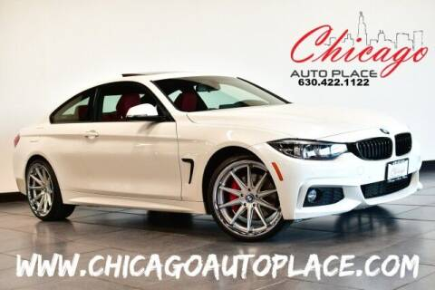 2018 BMW 4 Series for sale at Chicago Auto Place in Bensenville IL