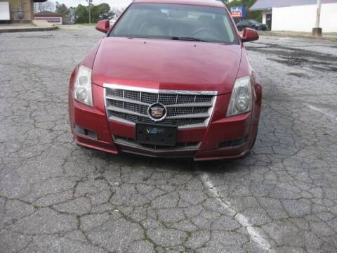 2011 Cadillac CTS for sale at LAKE CITY AUTO SALES in Forest Park GA