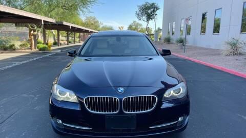 2011 BMW 5 Series for sale at Autodealz in Tempe AZ