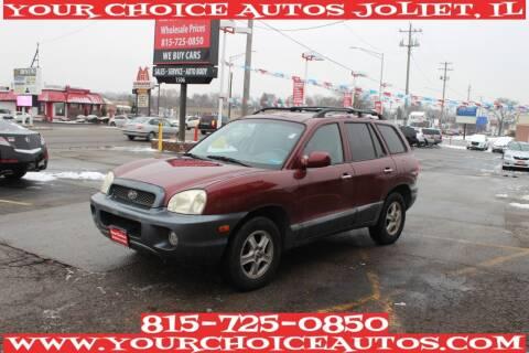 2004 Hyundai Santa Fe for sale at Your Choice Autos - Joliet in Joliet IL