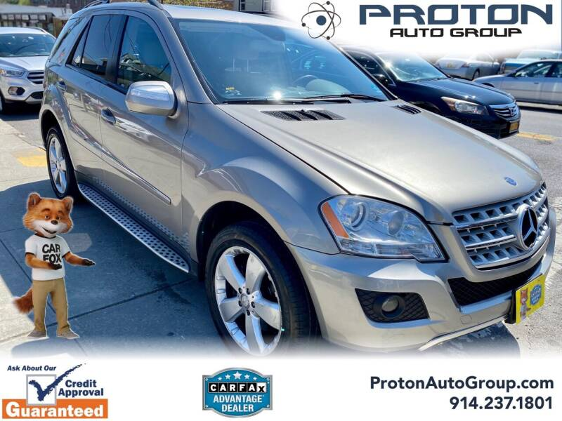 2009 Mercedes-Benz M-Class for sale at Proton Auto Group in Yonkers NY