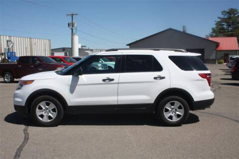 2013 Ford Explorer for sale at SCHMITZ MOTOR CO INC in Perham MN