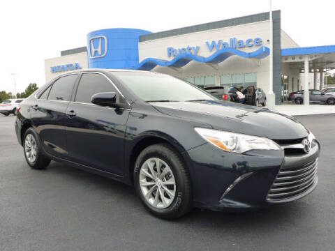 2017 Toyota Camry for sale at RUSTY WALLACE HONDA in Knoxville TN
