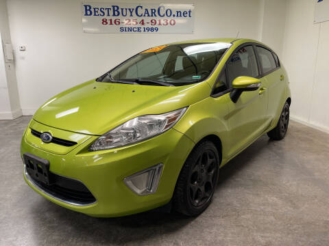 2011 Ford Fiesta for sale at Best Buy Car Co in Independence MO