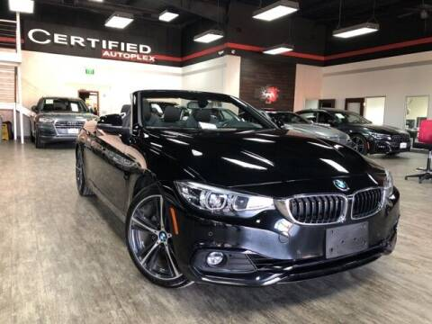 2018 BMW 4 Series for sale at CERTIFIED AUTOPLEX INC in Dallas TX
