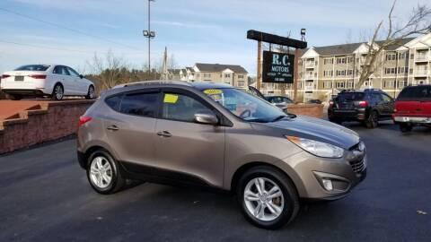 2013 Hyundai Tucson for sale at R C Motors in Lunenburg MA