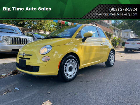 2012 FIAT 500 for sale at Big Time Auto Sales in Vauxhall NJ