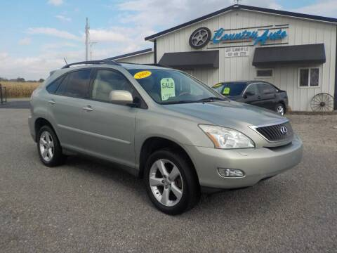 2008 Lexus RX 350 for sale at Country Auto in Huntsville OH