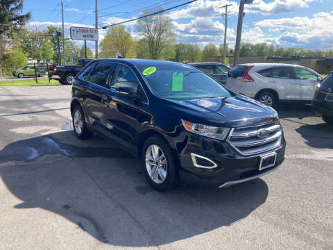 2016 Ford Edge for sale at JERRY SIMON AUTO SALES in Cambridge NY