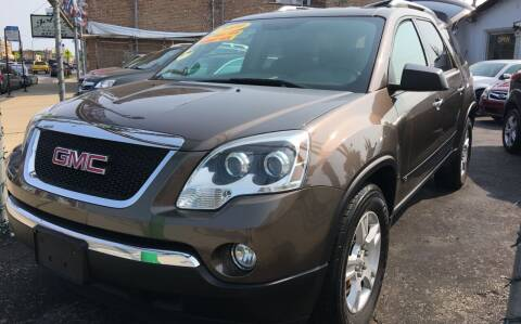 2009 GMC Acadia for sale at Jeff Auto Sales INC in Chicago IL