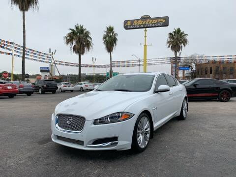 2012 Jaguar XF for sale at A MOTORS SALES AND FINANCE in San Antonio TX