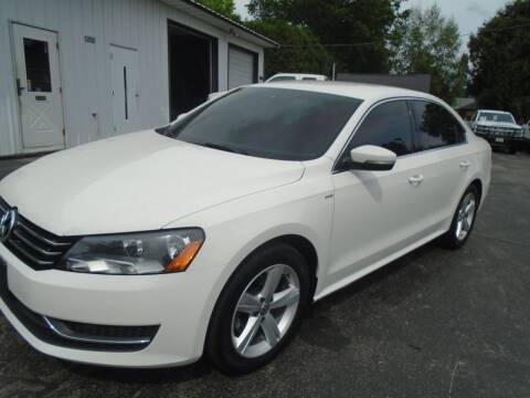 2014 Volkswagen Passat for sale at NORTHLAND AUTO SALES in Dale WI