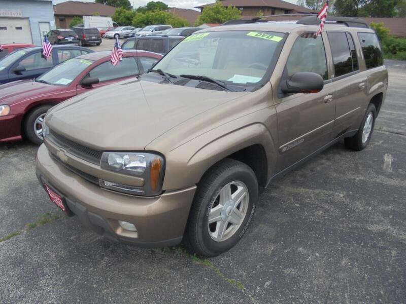 2002 Chevrolet TrailBlazer for sale at Century Auto Sales LLC in Appleton WI