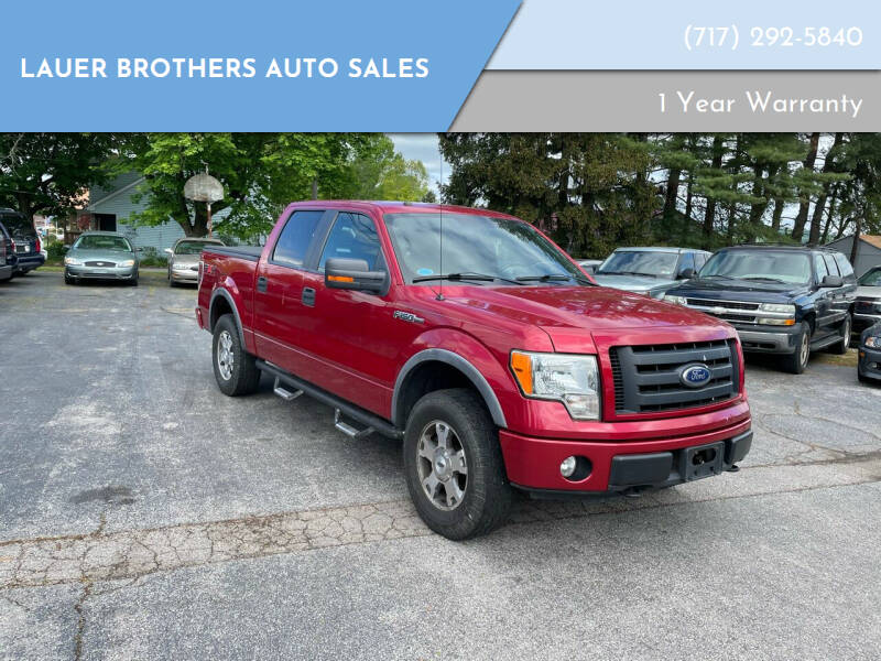 2010 Ford F-150 for sale at LAUER BROTHERS AUTO SALES in Dover PA
