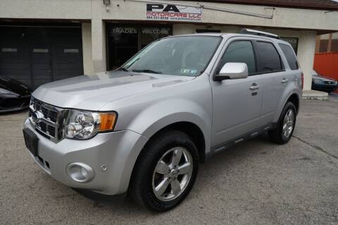 2011 Ford Escape for sale at PA Motorcars in Conshohocken PA