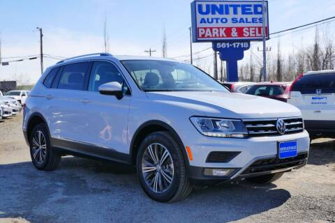 2018 Volkswagen Tiguan for sale at United Auto Sales in Anchorage AK