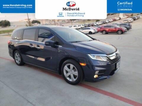 2019 Honda Odyssey for sale at DAVID McDAVID HONDA OF IRVING in Irving TX
