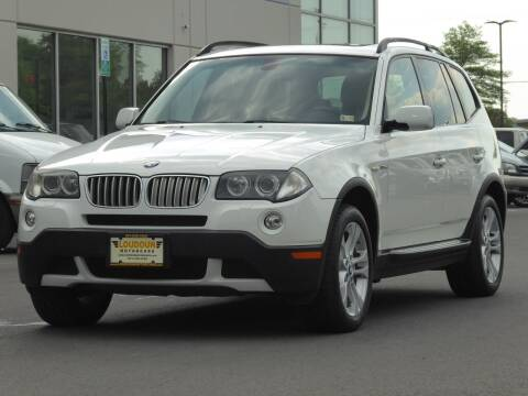 2008 BMW X3 for sale at Loudoun Motor Cars in Chantilly VA