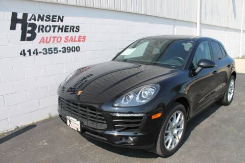 2015 Porsche Macan for sale at HANSEN BROTHERS AUTO SALES in Milwaukee WI