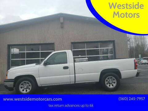 2007 Chevrolet Silverado 1500 Classic for sale at Westside Motors in Mount Vernon WA