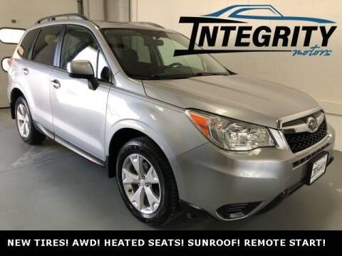 2015 Subaru Forester for sale at Integrity Motors, Inc. in Fond Du Lac WI
