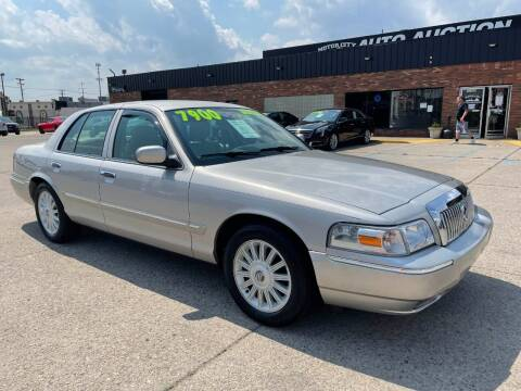 2008 Mercury Grand Marquis for sale at Motor City Auto Auction in Fraser MI