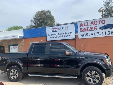2012 Ford F-150 for sale at Ali Auto Sales in Moline IL